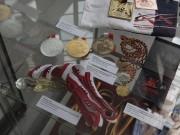 Medaillensätze von großen Kanuwettbewerben auf der Regattastrecke  Beetzsee 1991-2011, Leihgabe: Regattastrecke Beetzsee