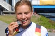Fini Sturm, Jahrgang 1995, geboren in Brandenburg an der Havel, erlernte das Rudern im R.C.H.B., Erfolge: U23-Weltmeisterin, eine Bronzemedaille bei Weltmeisterschaften, zwei Silbermedaillen bei Europameisterschaften, 11. Platz bei Olympischen Spielen