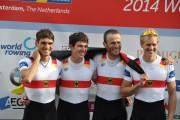 Max Röger (2.v.l.) Jahrgang 1989, geboren in Brandenburg/Havel, erlernte das Rudern beim R.C.H.B., Erfolge: Vizeweltmeister  U23, ein Weltmeistertitel und mehrfacher  Medaillengewinner bei Weltmeisterschaften, ist im erweiterten Kreis der Olympia-Kader für 2020