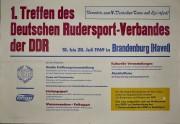 erstes Treffen des deutschen Rudersportverbandes