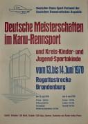 Deutsche Meisterschaften im Kanurennsport